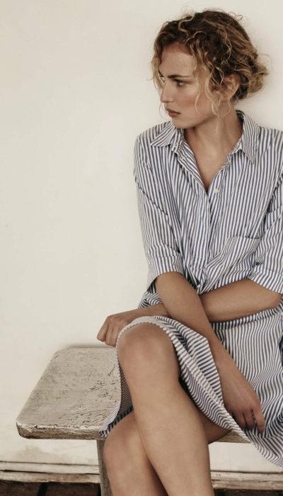 scapa flow streepjes jurk voor zomer